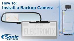 How To Install A Rear View Backup Camera