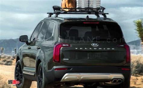 kia telluride suv debuts based  hyundai palisade  seater