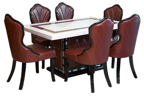 furniture city suriname 6 chairs dining table set