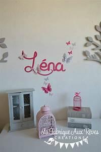 trendy stickers prnom fillerose poudr rose fuchsia With chambre bébé design avec livraison fleurs jour mϪme