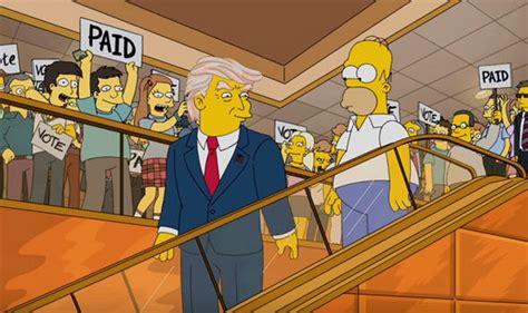 Donald Trump President Simpsons