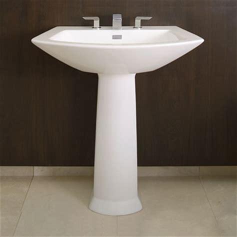 modern pedestal sink pedestal sinks a surprising solution for any bathroom