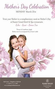 Mother's Day Celebration - Events - WhatsUpBahrain.net