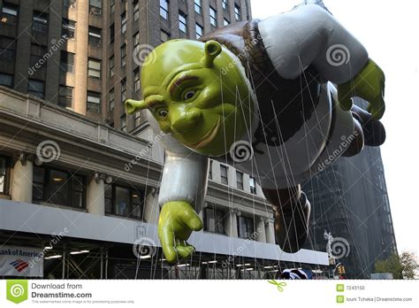 shrek balloon editorial image image