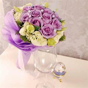Wedding Flowers: Wedding Flowers Yellow and Purple