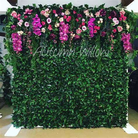 flower wall   hire sydney flower