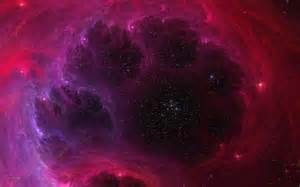 Pink Space Galaxy