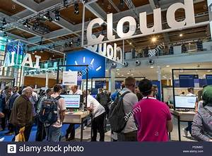 CEBIT 2018, the world's largest IT trade fair, Hanover ...