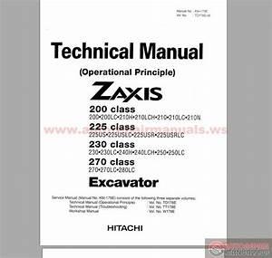 Hitachi Excavator Zaxis Zx200