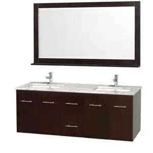 wyndham collection centra 60 in double vanity in espresso