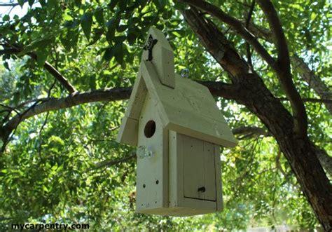 Bird House Plans That Resemble A