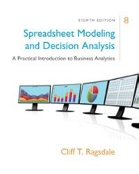 spreadsheet modeling decision analysis  practical