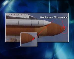 Spaceflight Now | STS-114 Shuttle Report | Launch debris ...