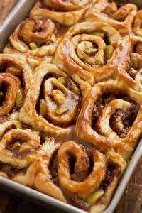Apple Caramel Cinnamon Rolls Recipe
