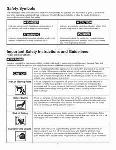 Safety Symbols  A Danger  A Caution