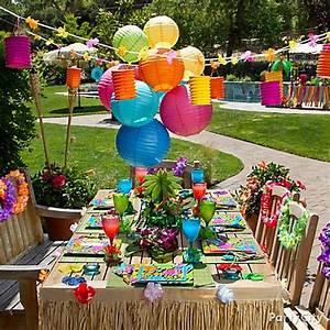 Totally Tiki Luau Party Ideas - Party City