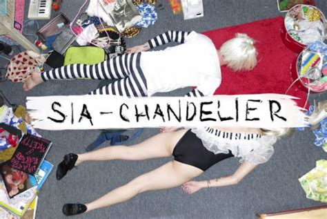 chandelier sia meaning sia just saved pop with comeback single chandelier