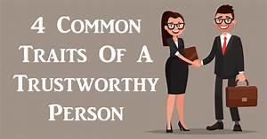 4 Common Traits Of A Trustworthy Person - DavidWolfe.com
