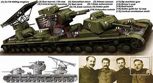 WWII experimental secret weapon- Russian land battleship ...