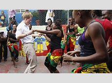 El Príncipe Harry baila en Jamaica ABCes