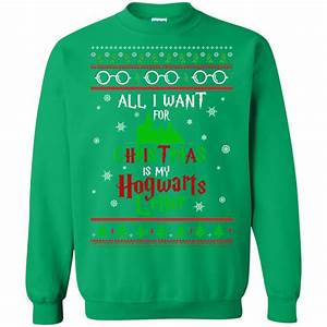 harry potter sweater all i want is my hogwarts letter With harry potter letter sweater
