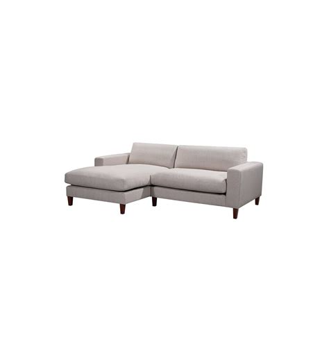 Zara Corner Sofa by Zara Corner Sofa With Mattblack Legs And Two Pillows