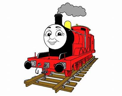 James Engine Coloring Colored Thomas Registered Friends