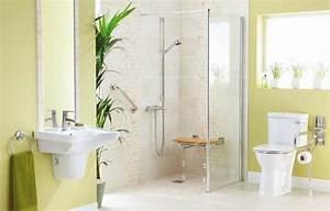 amenager securiser salle de bain pmr senior ou personne With meuble salle de bain pour personne a mobilite reduite