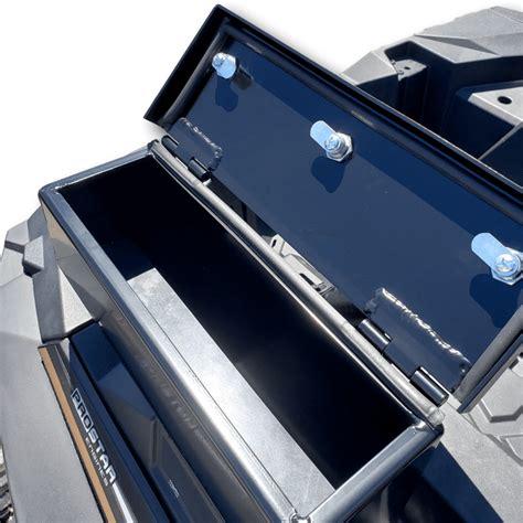 rear cargo box  polaris rzr xp  side  side stuff