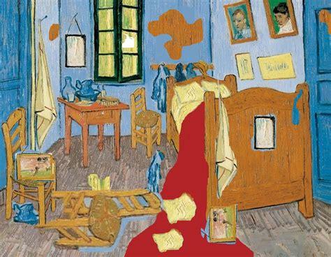 la chambre de gogh du désordre dans la chambre gogh collège yves