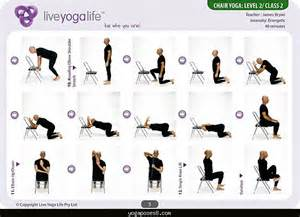 yoga with a chair yoga poses yoga positions asana