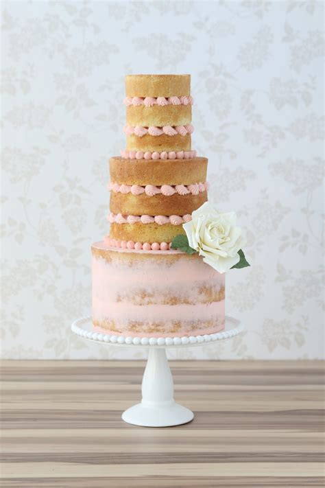 buttercream wedding cakes naked cakes macaron towers