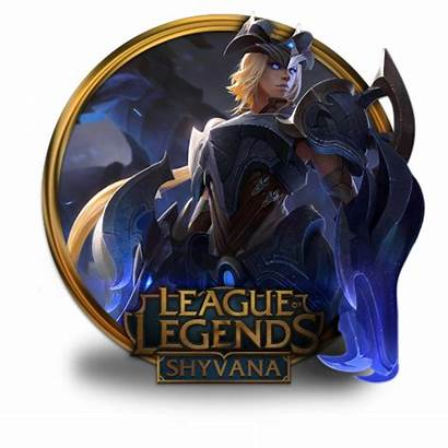Shyvana Championship Icon League Legends Border Fazie69
