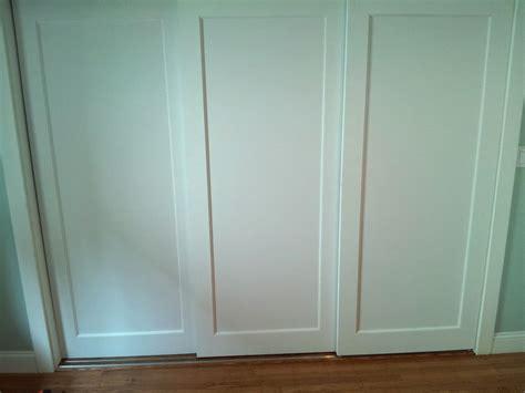 simple sliding closet doors three panel roselawnlutheran