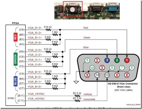 Hdmi To Vga Schematic by Vga To Hdmi Connection Diagram Periodic Diagrams Science