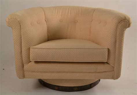 pair of swivel tub chairs for sale at 1stdibs