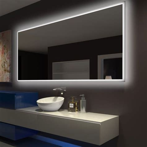 rectangle bathroom mirror  led backlight  paris