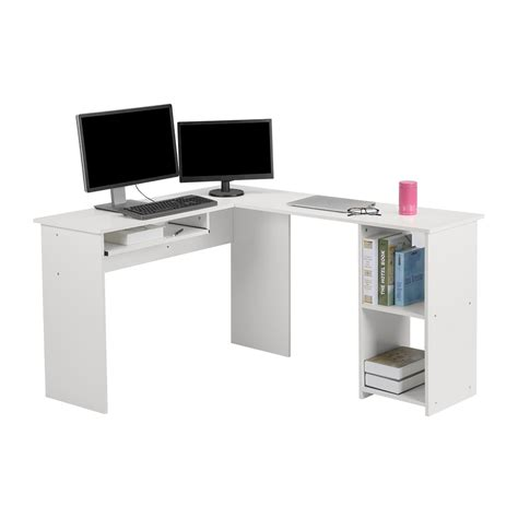 large corner computer desk l shaped large corner computer desk with keyboard shelf