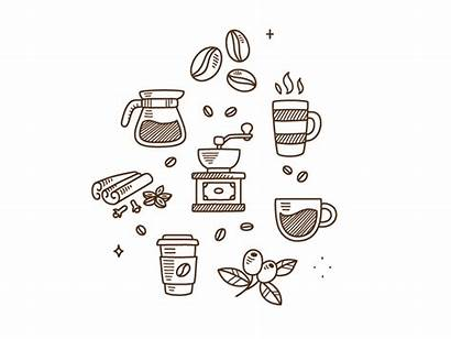 Coffee Doodles Icon Doodle Icons Animated Drawing