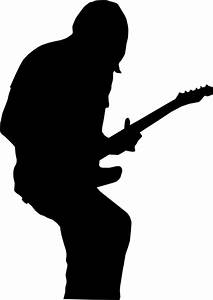 Electric Guitar Silhouette - ClipArt Best