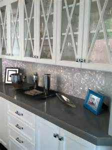 pearl mosaic backsplash someday my home