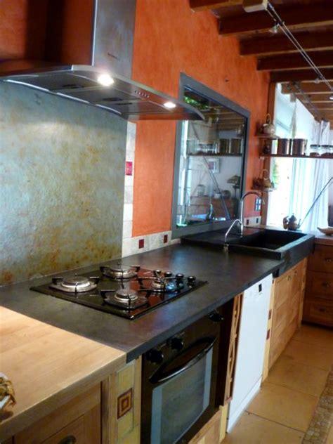 ardoise de cuisine ardoise cuisine plan de travail en ardoise sur mesure
