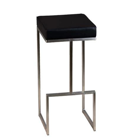 tabouret de bar en inox brosse couleur au choix csy 813 one mobilier