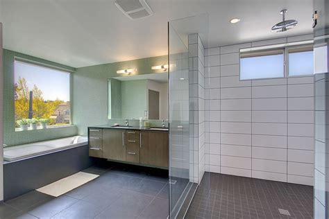 large white subway tile grout bathrooms