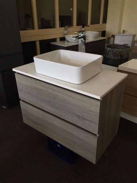 bogetta 900mm light grey oak timber wood grain bathroom