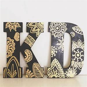 25 best ideas about paint wooden letters on pinterest With wooden greek letters painted