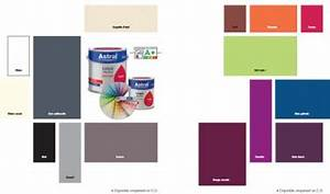 Peinture A Effet Pour Meuble : nuancier peinture laque glycero brillante astral 15 couleurs ~ Melissatoandfro.com Idées de Décoration