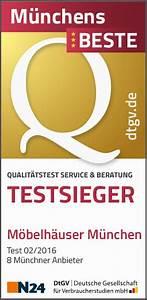 Möbelhäuser Und Einrichtungshäuser München : m nchner m belh user test von service und beratungsqualit t dtgv ~ Bigdaddyawards.com Haus und Dekorationen