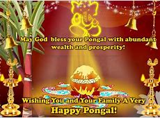Wealth And Prosperity To All! Free Pongal eCards, Greeting