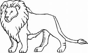 Cartoon Lion Coloring Pages Coloring Pages
